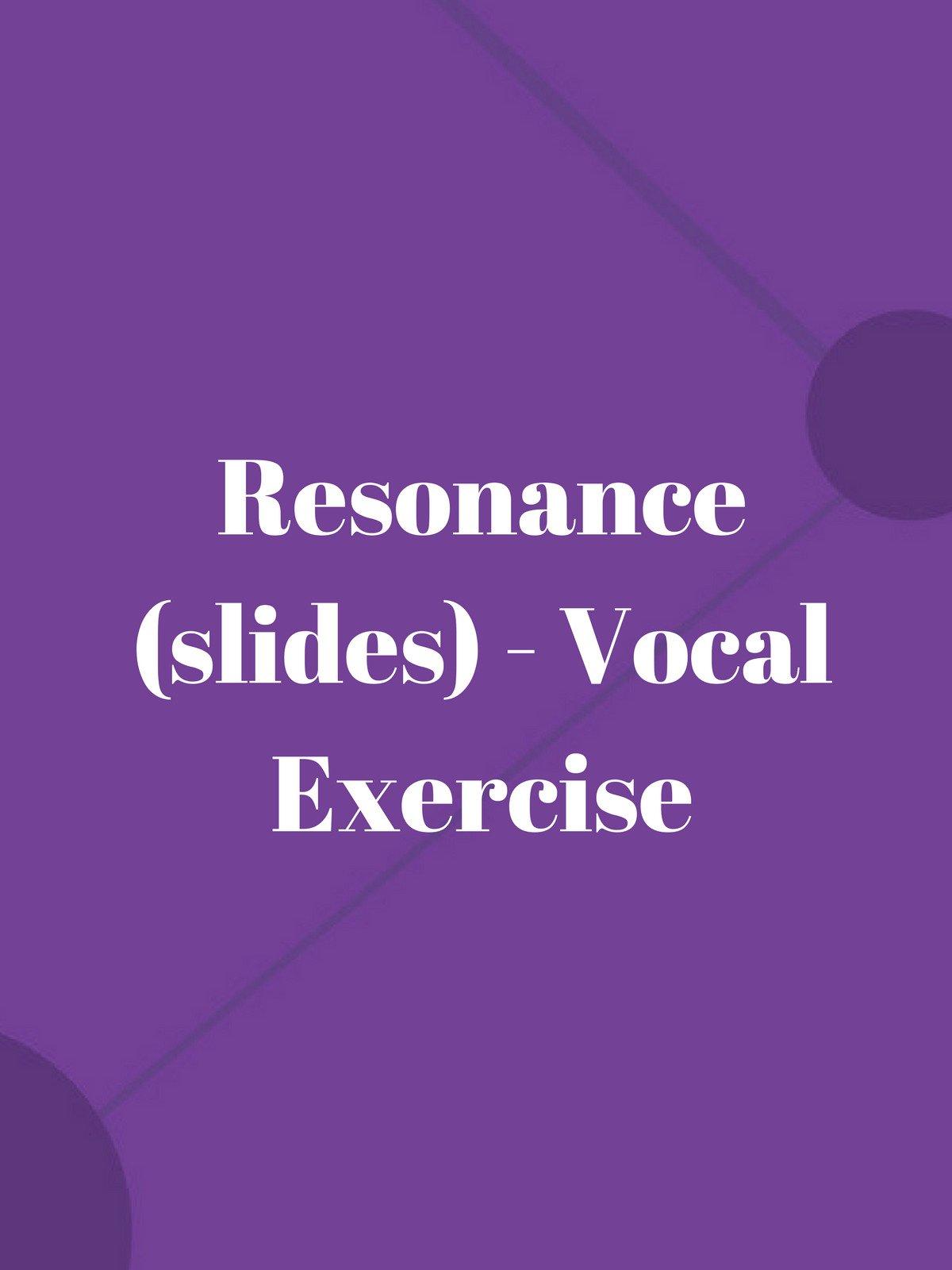 Resonance (slides)