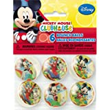 Mickey Mouse Clubhouse Bouncy Balls, 6ct