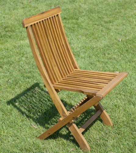 DiKasa Akazie Gartenstuhl klappbar 55x63x87h günstig kaufen