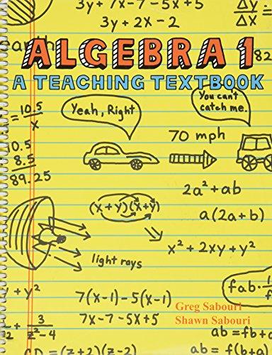 Algebra 1: A Teaching Textbook (Math Programs Algebra compare prices)