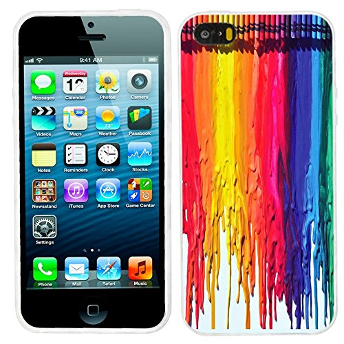 iPhone 5s Case, iphone5s case,iphone 5 case,iphone5 case, ChiChiC full Protective unique Stylish Case slim flexible durable Soft TPU Cases Cover for iPhone 5 5g 5s,colorful watercolor (Cool Animal Iphone 5 Cases compare prices)