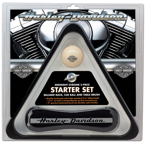 Review Harley-Davidson® Midnight Chrome Billiard Starter Set