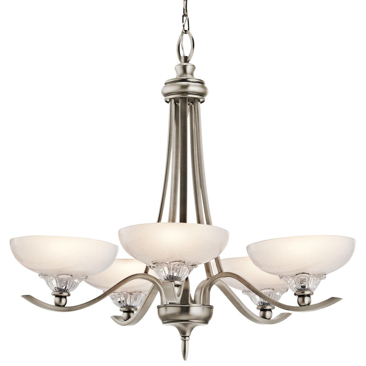 Kichler lighting 42367ap 5 light kaelah chandelier antique pewter kichler lighting 42367ap 5 light kaelah chandelier antique pewter aloadofball Images