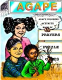 img - for Agape Coloring Activity Book Of Prayers Puzzle Games (Volume 2) book / textbook / text book