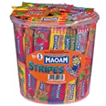 Maoam 150 Stripes, 1er Pack (1 x 1.2 kg)