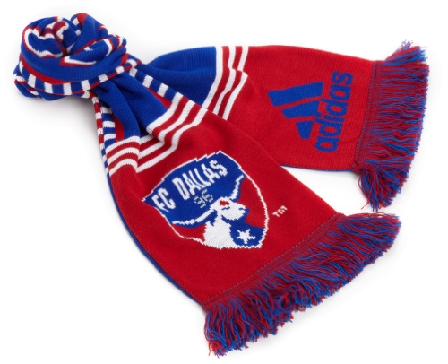 Mls Fc Dallas Authentic Coach'S Scarf One Size Fits All, Red