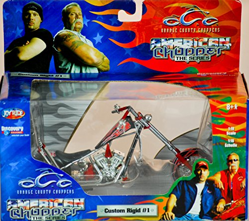 2004 - RC2 Brands / ERTL / Joy Ride - Orange County Choppers - American Chopper The Series - Custom Rigid #1 - 1:18 Scale - Die Cast Metal - 1of 9 in Series - New - MIB - Limited Edition - Collectible (1 6 Scale Chopper compare prices)