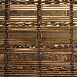 Havana Roman Shade in Cocoa Finish (60 in. W x 64 in. H (10.30 lbs.))