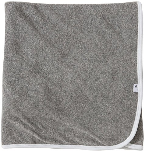 Burt's Bees Baby Single Ply Hooded Toddler Towel - Heather Grey - 1