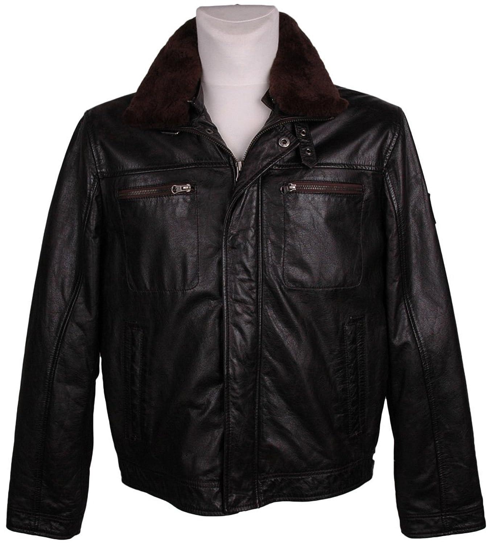 Northland Herren Leder-Jacke , Model: , Farbe: schwarz, Größe: 50/, — NEU —, UPE: 299 Euro günstig kaufen