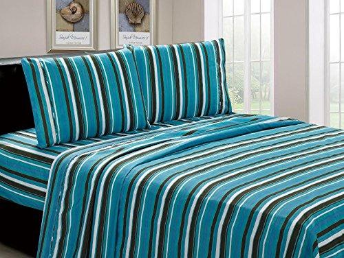 Beverly-Hills-1800-Series-Ultra-Soft-Printed-3-PC-Sheet-Set-Twin-Aqua-Stripe