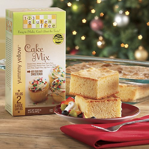 The Swiss Colony Gluten Free Yellow Cake Mix