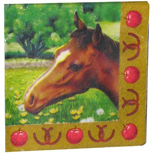 Mare and Foal Party Napkins