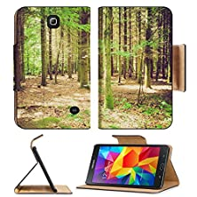 buy Msd Premium Samsung Galaxy Tab 4 7.0 Inch Flip Pu Leather Wallet Case Vintage Looking Trees In A Forest Or Wood Image Id 27005073