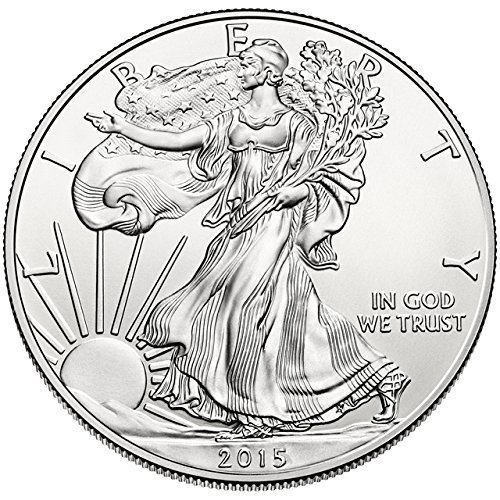 2015 - 1 oz American Silver Eagle .999 Fine Silver Dollar Uncirculated US
