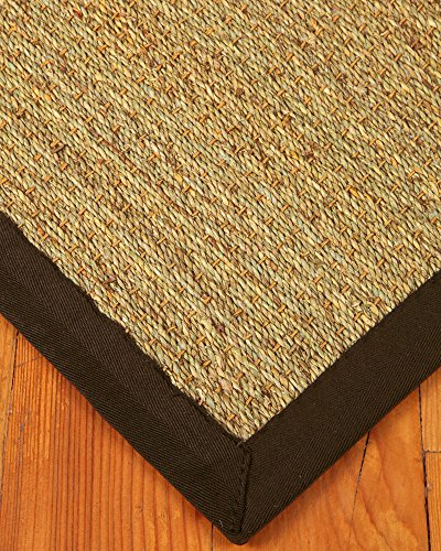 Naturalarearugs maritime seagrass rug 9 39 by 12 39 mocha for Seagrass for landscaping