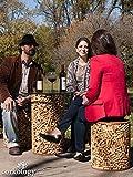 Wine Cork Stool - 14in.Dia. x 18in.H