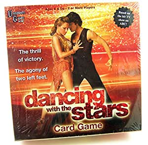 Dancing with the Stars Card Game
