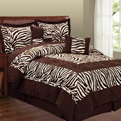 Zebra Print Bedding Twin front-168331