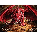 Cobble Hill Dragon's Lair Jigsaw Puzzle, 1000-Piece