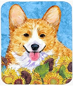 Amazon.com : Carolines Treasures SS4119MP Corgi Mouse Pad, Hot Pad or