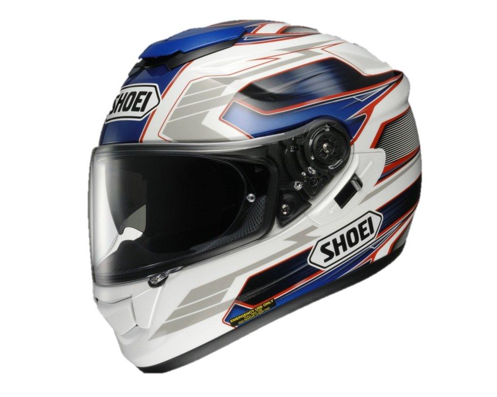 shoei gt air inertia tc 2 blue white xl 61cm size helmet ebay. Black Bedroom Furniture Sets. Home Design Ideas