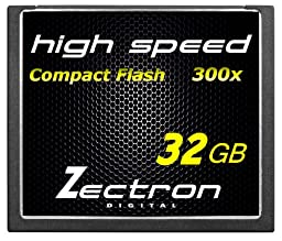 Zectron 32GB Professional CF Compact Flash High Speed Memory Card Nikon D70, D700 DIGITAL CAMERA