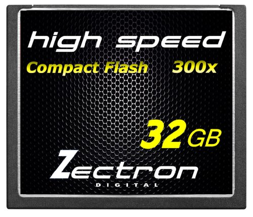 Zectron 32GB Professional CF Compact Flash High Speed Memory Card for Canon XF100 EOS 50D DIGITAL CAMERA