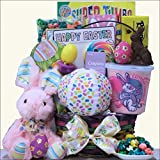 Hoppin Easter Fun - Girl: Child s Easter Basket Ages 3 to 5 Years Old