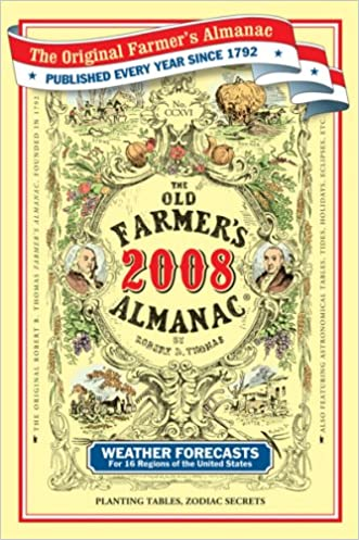 The Old Farmer's Almanac 2008 written by Old Farmer%C2%92s Almanac