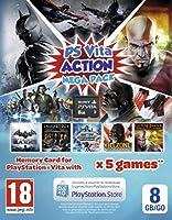 Playstation Vita Action Mega Pack Voucher Plus 8GB Memory Card