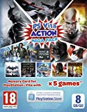 Playstation Vita Action Mega Pack Voucher Plus 8GB Memory Card