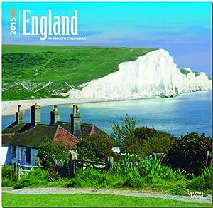 England 2015 Wall Calendar