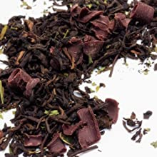 Chocolate Mint Fusion Pu39erh Tea - 3 oz bag loose tea