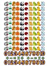 Felt BBS  Flannel Board Set Beginner Counting no. LFV22101
