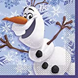 Disney Frozen Olaf Luncheon Napkins [16 Per Pack]