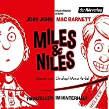 Hirnzellen im Hinterhalt (Miles & Niles 1) Hörbuch von Jory John, Mac Barnett Gesprochen von: Christoph Maria Herbst