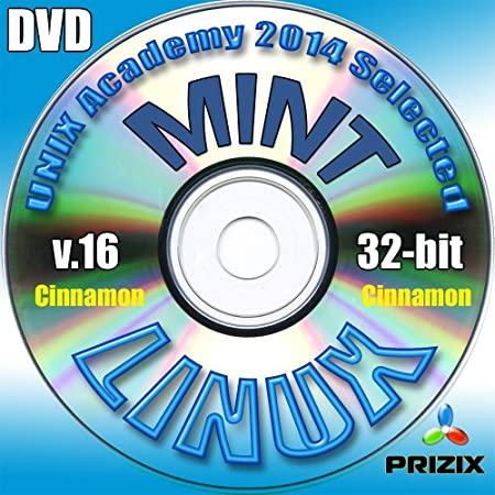 Mint Cinnamon 16 Linux DVD 32-bit Full Installation Includes Complimentary UNIX Academy Evaluation Exam