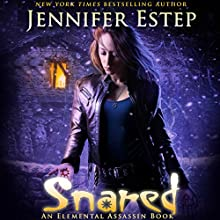 Snared Audiobook by Jennifer Estep Narrated by Lauren Fortgang