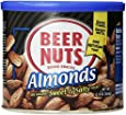 Beer Nuts Almonds, 12-Ounce Cans (Pack of 2)
