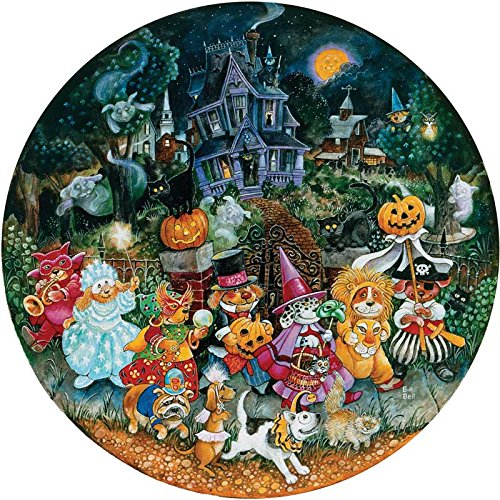 Howl-O-Ween Dogs a 500-Piece Jigsaw Puzzle by Sunsout Inc.