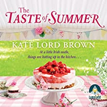The Taste of Summer Audiobook by Kate Lord Brown Narrated by Caroline Lennon