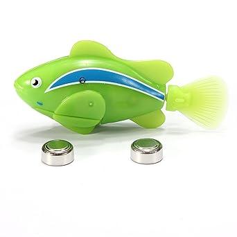 2013 Robo Fish nage poisson robot 4 pile robofish Neuf Comparer les Prix 8