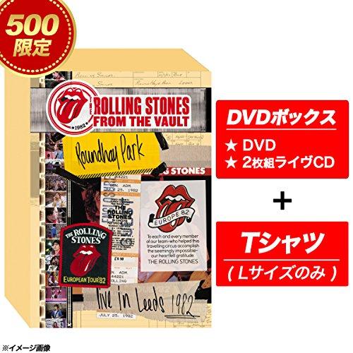 ストーンズ - ライヴ・イン・リーズ 1982【完全生産限定盤500セット:DVD+2CD/Tシャツ(Lサイズのみ)/日本語字幕付】