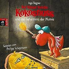 Der kleine Drache Kokosnuss und das Geheimnis der Mumie Hörbuch von Ingo Siegner Gesprochen von: Philipp Schepmann