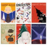 V&A Harper's Bazaar Christmas Cards (Pack of 12, Luxury Wallet)||RF20F||EVAEX
