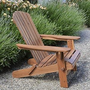 Plant theatre adirondack fauteuil de jardin pliable en bois exotique de quali - Fauteuil de jardin en bois ...