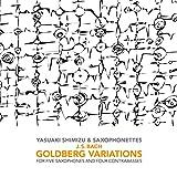 J.S.バッハ:ゴルトベルク変奏曲 ト長調BWV988 (5サキソフォン&4コントラバス版)[清水靖晃 編曲](第14変奏)
