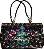 Czds India Women's Black Handbag (BAG-06)