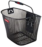 Fahrradkorb-KLICKfix-abnehmbar-engmaschig-schwarz-fr-vorne-mit-Tragebgel-und-hhenverstellbarer-Adapterplatte